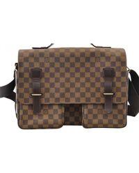 Lyst - Louis Vuitton Crossbody Bag - Vintage in Brown 7b7141c90c829