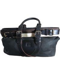 Loewe Leder Handtaschen - Schwarz
