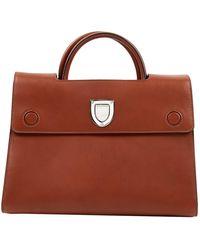 Dior Ever Brown Leather Handbag