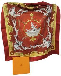 Hermès Châle Seide Schals - Orange