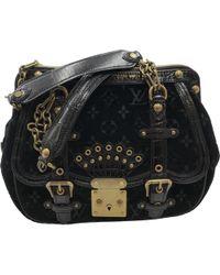 73c11bff690f70 Louis Vuitton - Pre-owned Black Alligator Handbags - Lyst