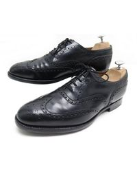 Church's \n Black Leather Lace Ups