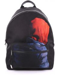 Dior - Pre-owned Black Cloth Backpacks - Lyst