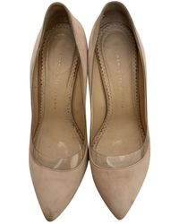 Charlotte Olympia Leather Heels - Pink