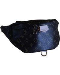 Louis Vuitton Bolsa clutch en lona marrón Bum Bag / Sac Ceinture - Multicolor
