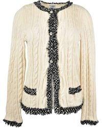 Chanel Kaschmir Cardigan - Mehrfarbig