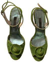 Marc Jacobs Sandals - Green