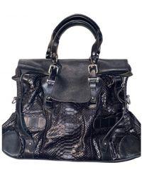 Pauric Sweeney Leather Handbag - Black