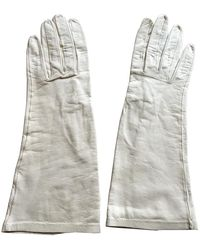 Dior Guanti in pelle beige - Neutro