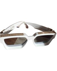 Louis Vuitton Millionaire sonnenbrillen - Weiß
