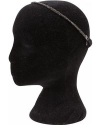 Maison Michel - Black Metal Hair Accessories - Lyst