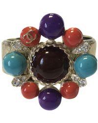 Chanel - Multicolour Metal Bracelet - Lyst
