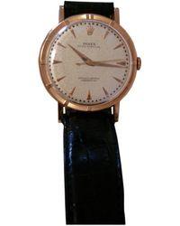 Rolex Oyster Perpetual 36mm Roségold Uhren - Mettallic