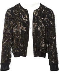 Dries Van Noten - Pre-owned Black Silk Jackets - Lyst