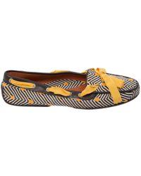 Missoni - Multicolour Cloth Flats - Lyst