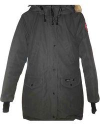 Canada Goose Grey Synthetic Coat Trillium