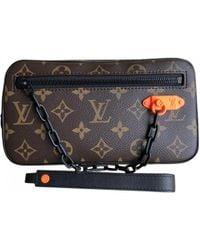 Louis Vuitton Pre-owned Volga Brown Cloth Bags