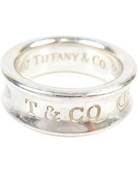 Tiffany & Co. - Tiffany 1837 Silver Silver Ring - Lyst