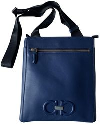 Ferragamo Leather Bag - Blue