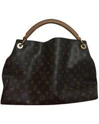 Louis Vuitton Artsy Cloth Handbag - Brown
