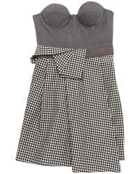 Richard Nicoll Black Wool Dress