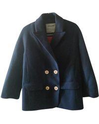 Zadig & Voltaire Wool Peacoat - Blue