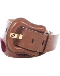 Fendi Brown Leather