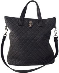 Philipp Plein - Pre-owned Black Leather Handbag - Lyst