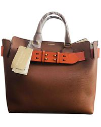 Burberry The Belt Leder Handtaschen - Mehrfarbig
