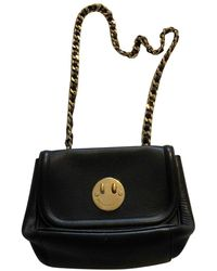 Hill & Friends Black Leather Handbag