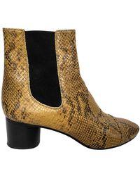 Isabel Marant Danae Western Boots - Multicolour