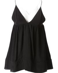 Chloé Pre-owned Silk Camisole - Black