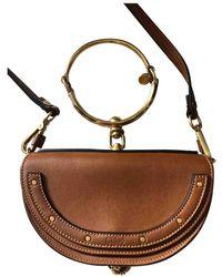 Chloé Bracelet Nile Leder Handtaschen - Braun