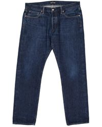 Tom Ford Jean droit - Bleu