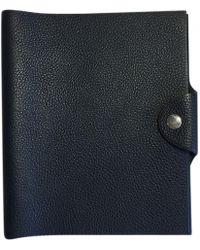 Hermès - Leather Purse - Lyst