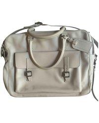 Valentino Leder Reise Tasche - Weiß