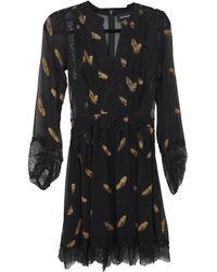 The Kooples Fall Winter 2019 Mini Dress - Multicolour