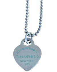 Tiffany & Co. Collana Return to Tiffany in Argento - Blu