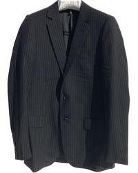 Dior Wolle Anzüge - Schwarz