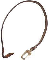 Louis Vuitton Marroquinería en cuero marrón