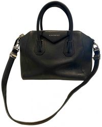 Givenchy Antigona Leder Handtaschen - Schwarz