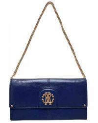 Roberto Cavalli Leather Handbag - Blue