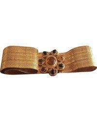 Chanel Gold Chain Belt - Multicolour