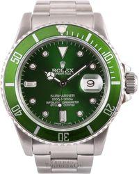 Rolex Orologi in LOWER()Acciaio LOWER()Verde Submariner