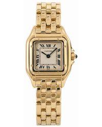 Cartier Panthère Yellow Gold Watch - Metallic