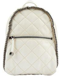 Stella McCartney - Leather Backpack - Lyst