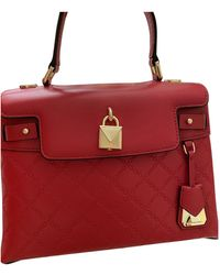 Michael Kors Leather Handbag - Red