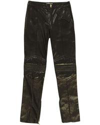 Matthew Williamson - Black Leather Trousers - Lyst