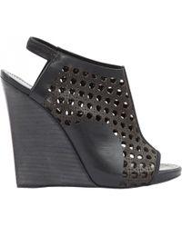 Proenza Schouler - Pre-owned Leather Heels - Lyst