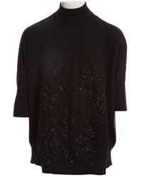 Givenchy - Black Wool Knitwear - Lyst